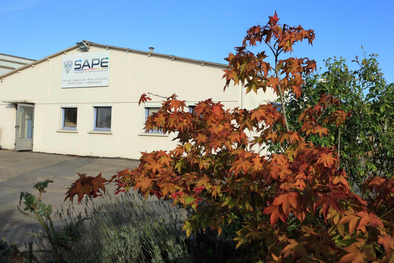 Locaux de la S.A.P.E spécialiste du traitement de surface des métaux